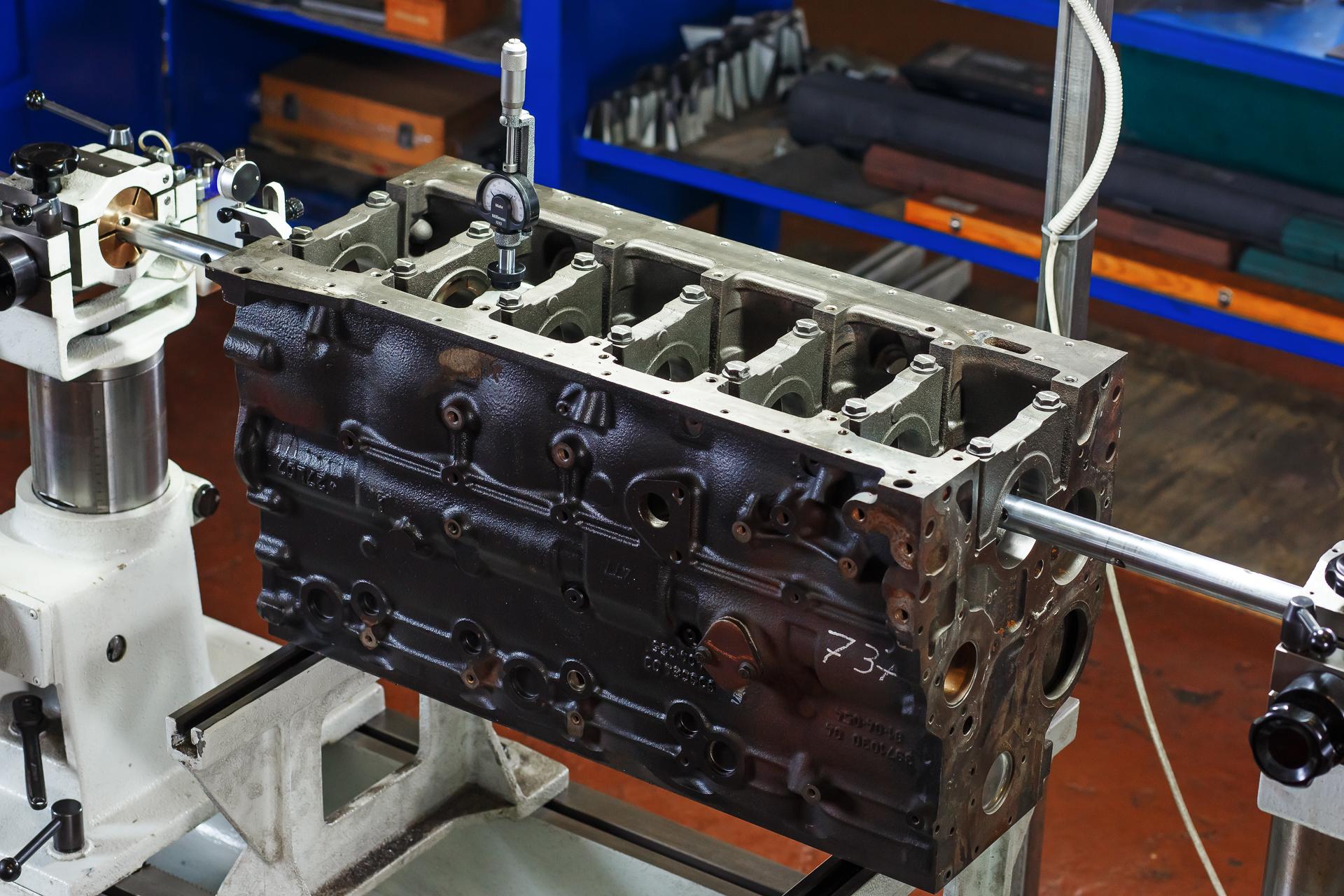 Механическая обработка деталей ДВС